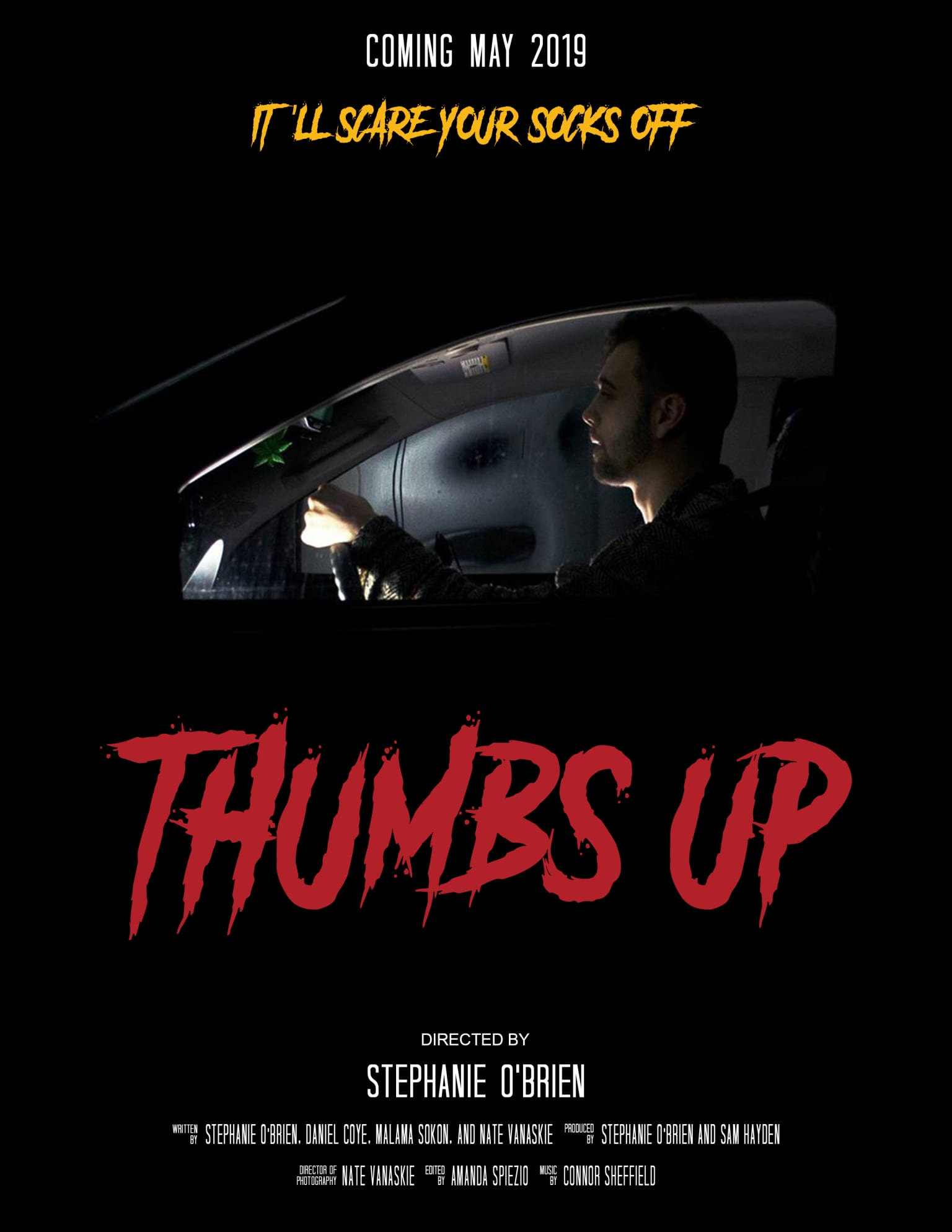 """Thumbs Up"" Movie Poster"
