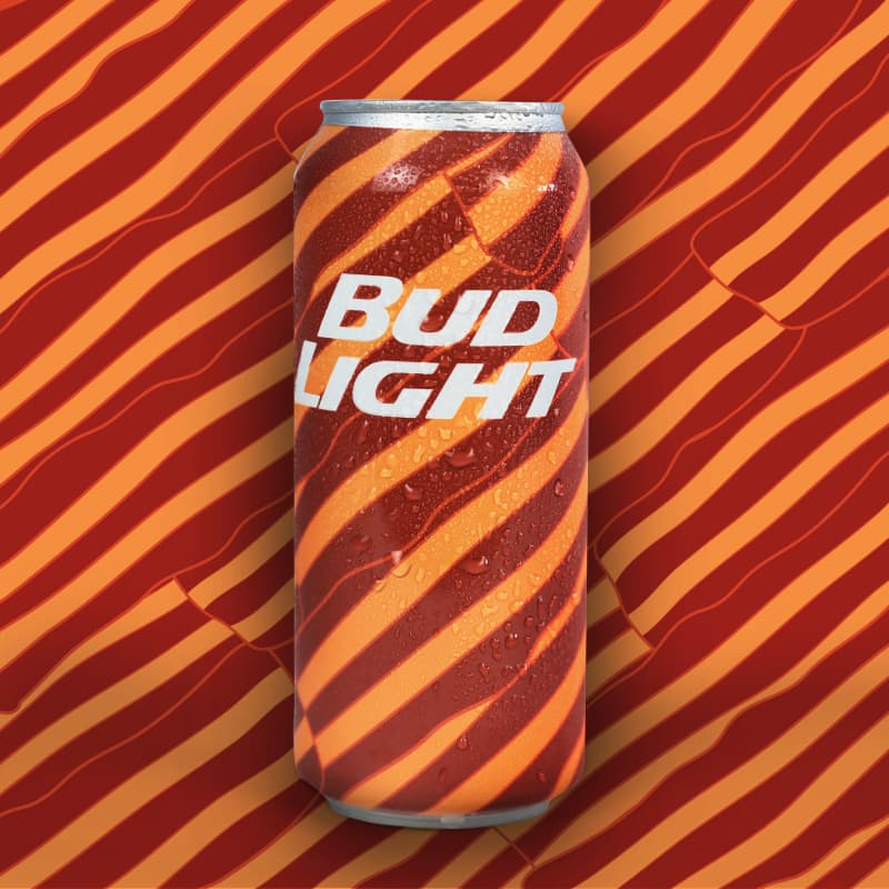 Bud Light Mad Decent Cans