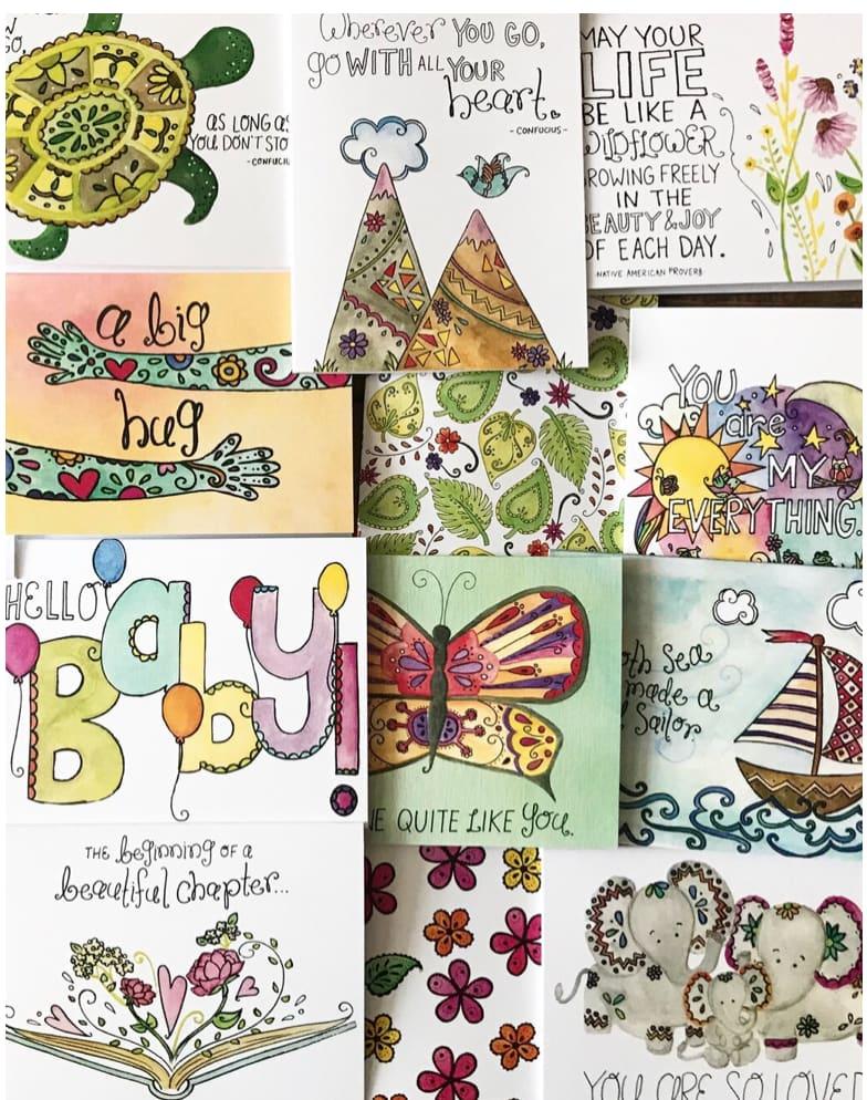 Greeting Card Illustrations