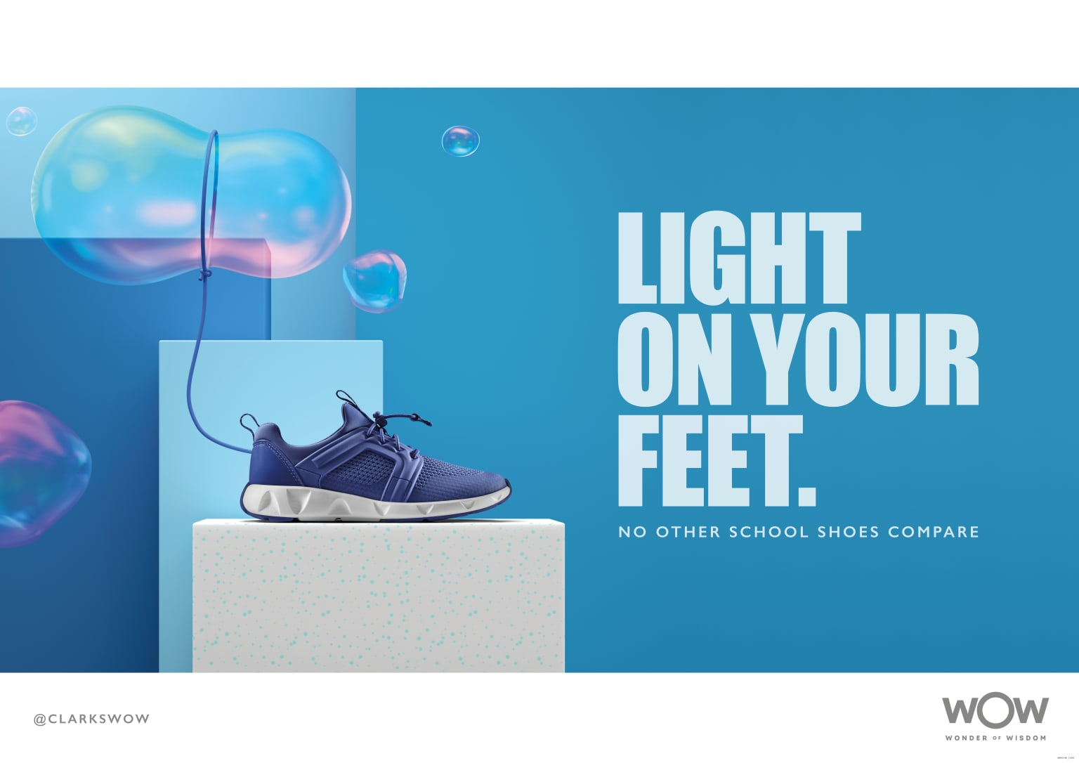Clarks 60 Tests Campaign
