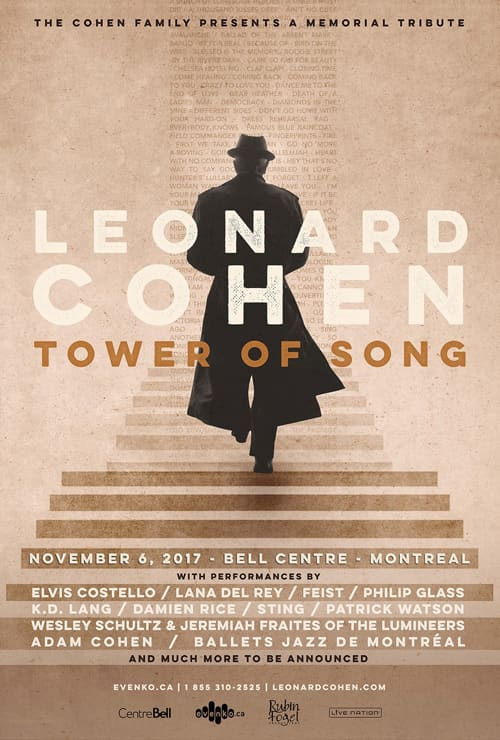 Musical director 'Tower Of Song: A Memorial Tribute to Leonard Cohen' television special