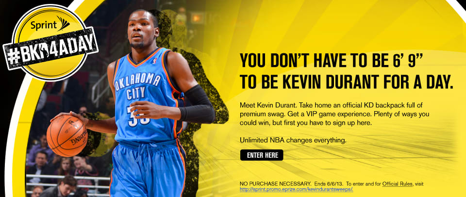 Sprint/NBA - Social Media Activation