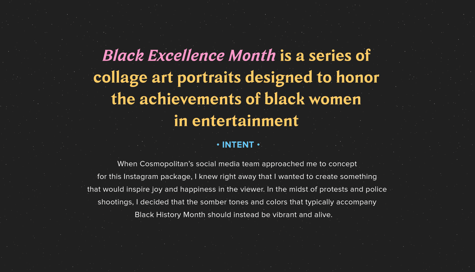 Black Excellence Month
