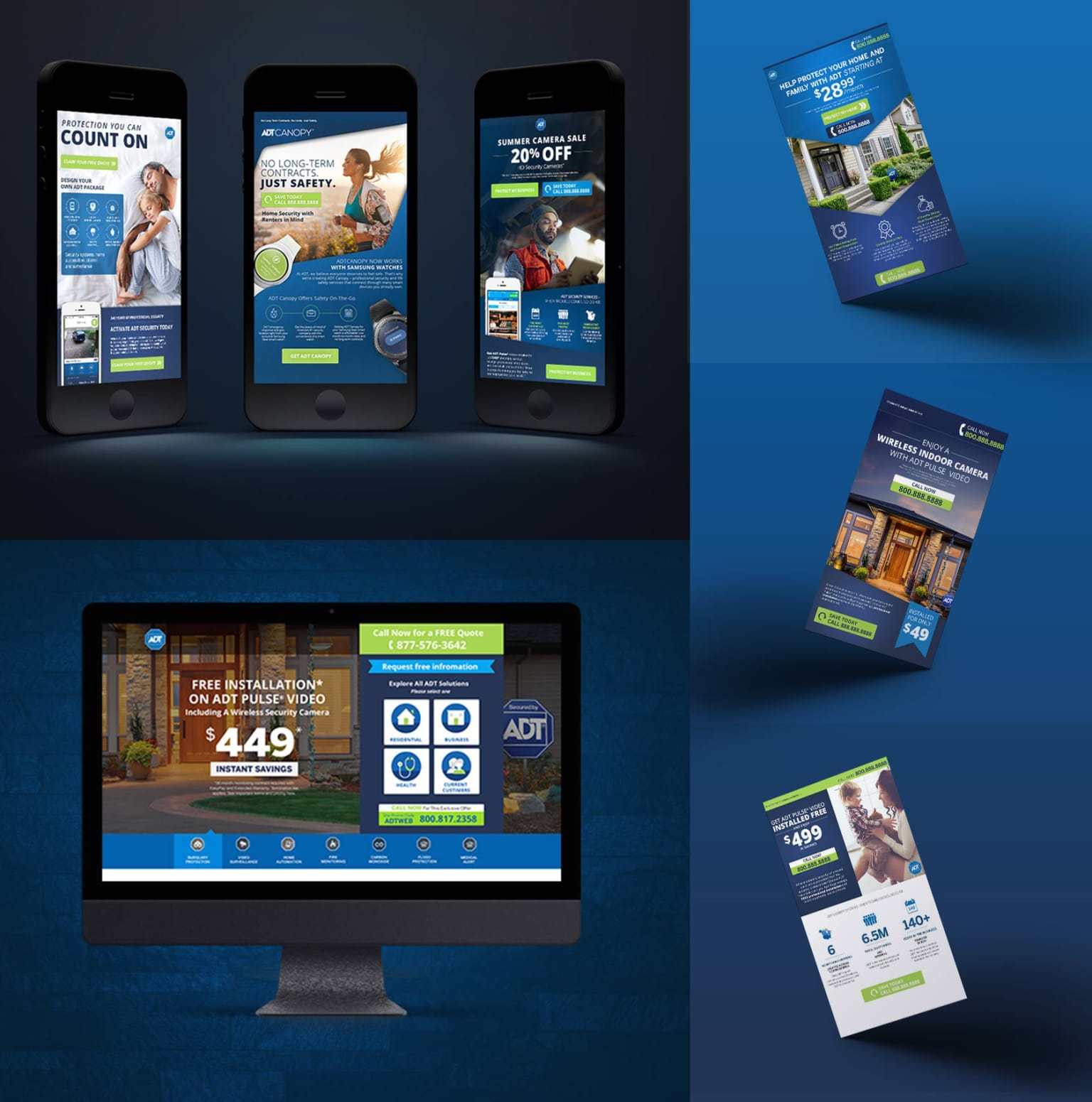 ADT email campaign