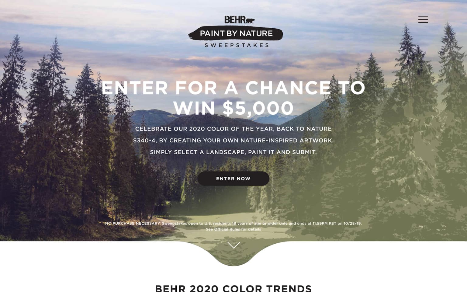 Behr Paint By Nature