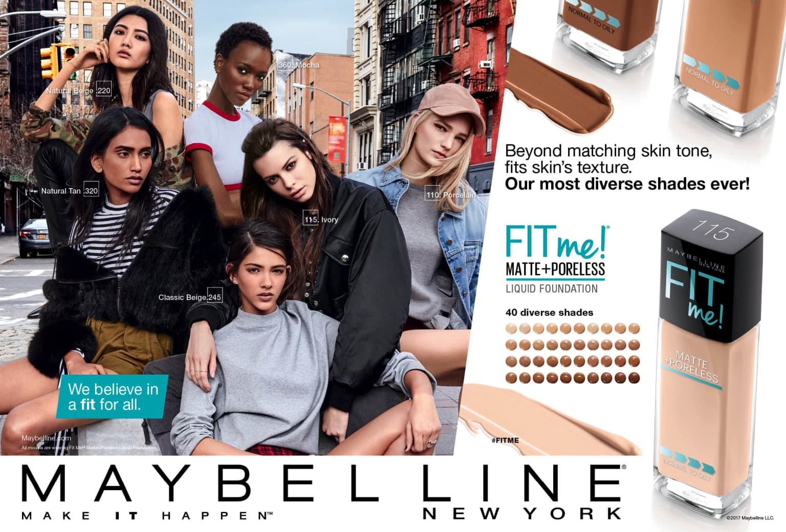 Maybelline, A Fit For All