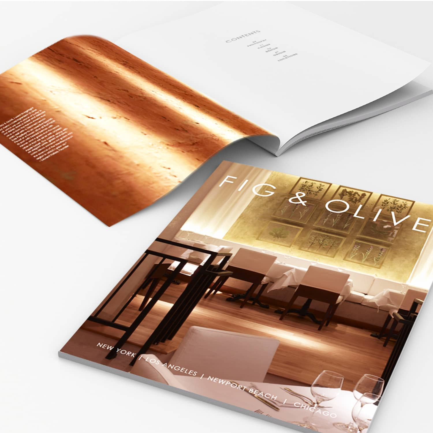 Brand Identity System for Fig & Olive
