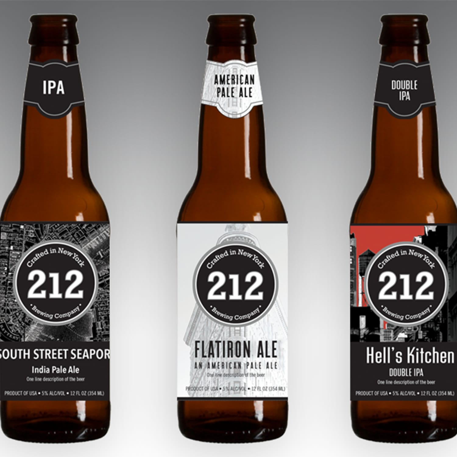 Brand Identity System for 212 Brewing Company