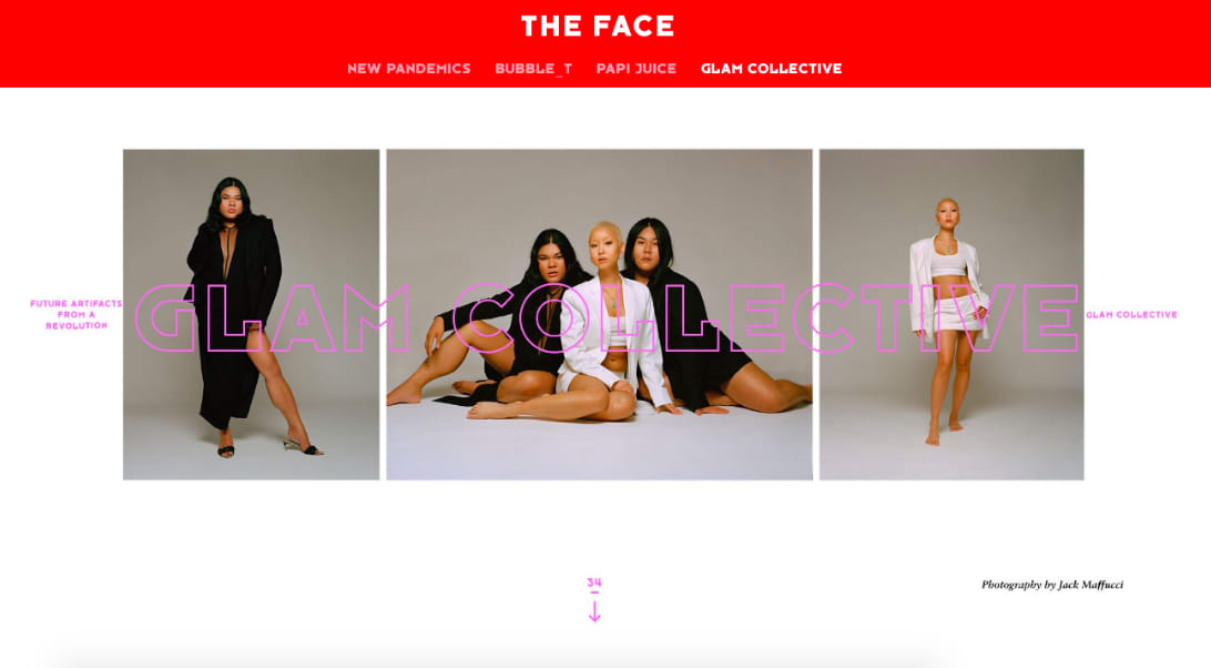 The Face: Future Artifacts from A Revolution