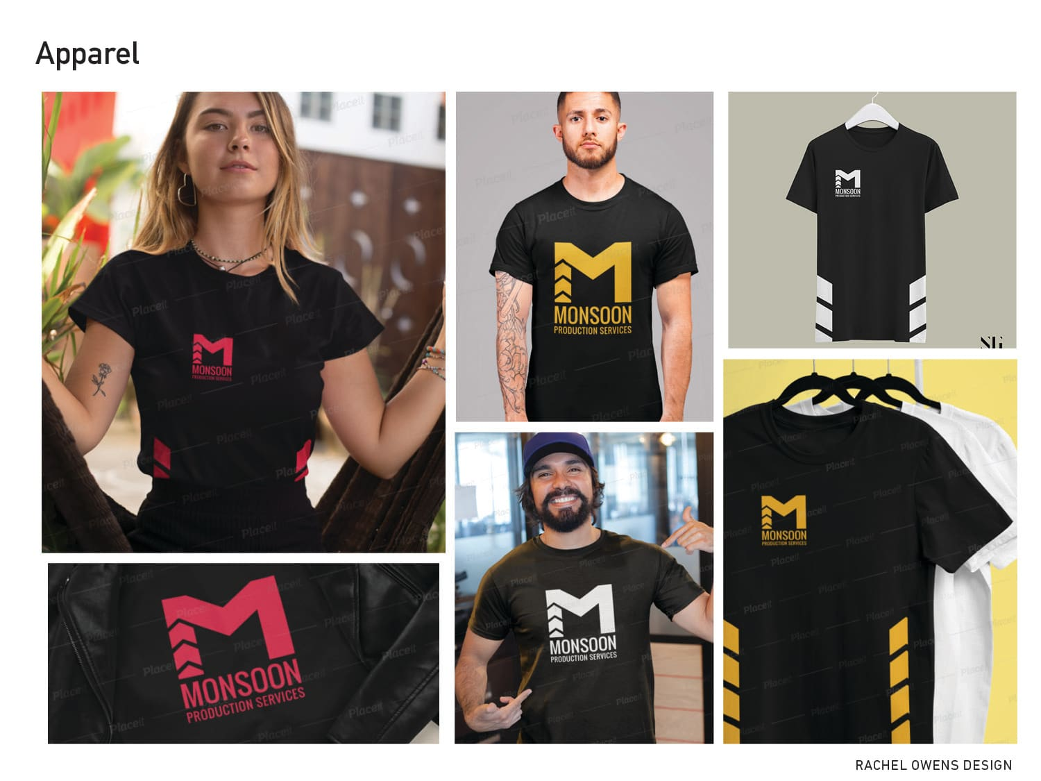 Monsoon Production Services Rebrand