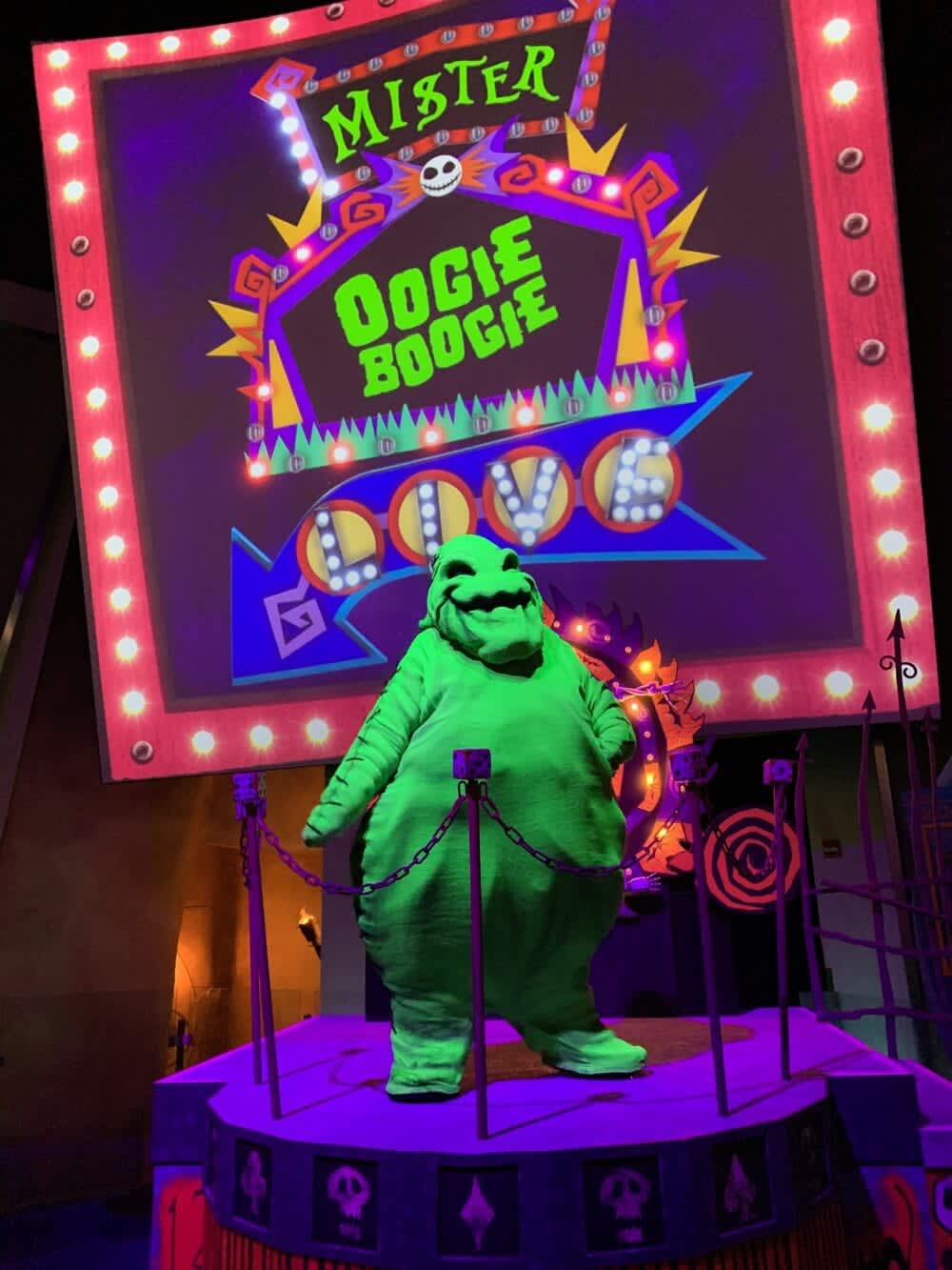 Oogie Boogie Photo location