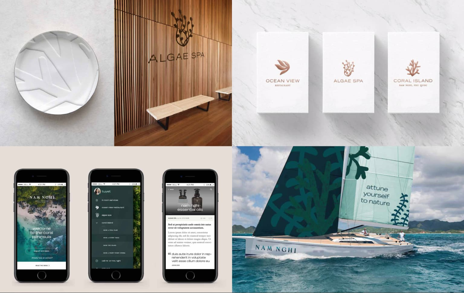 Hyatt — Developing a compelling brand story for Nam Nghi
