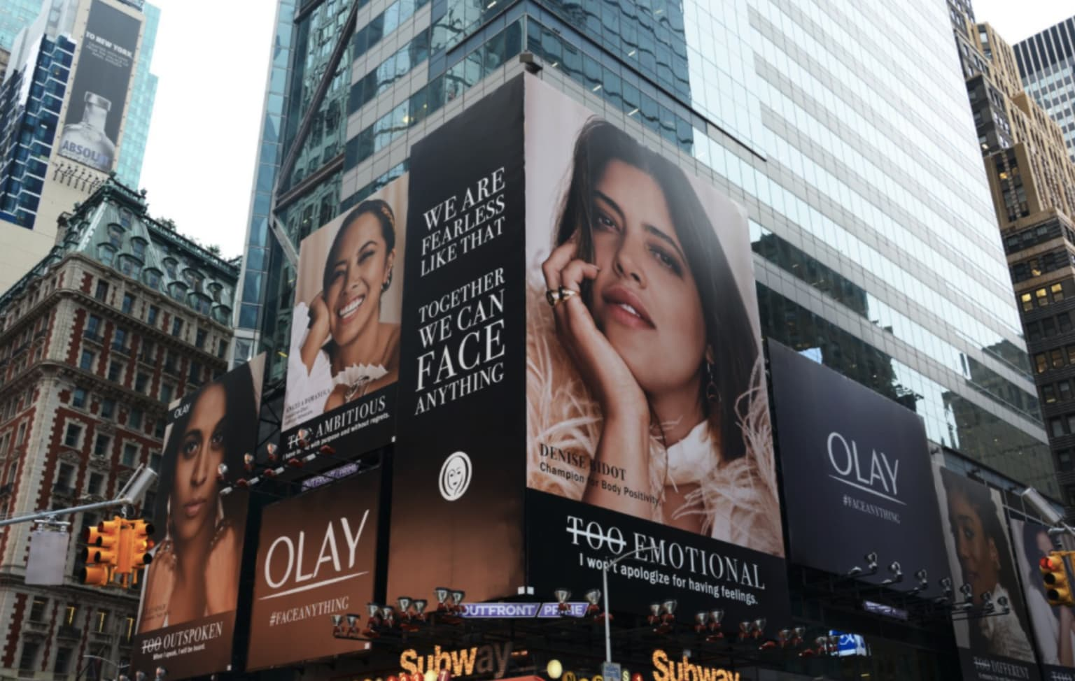 Olay Face Anything Campaign