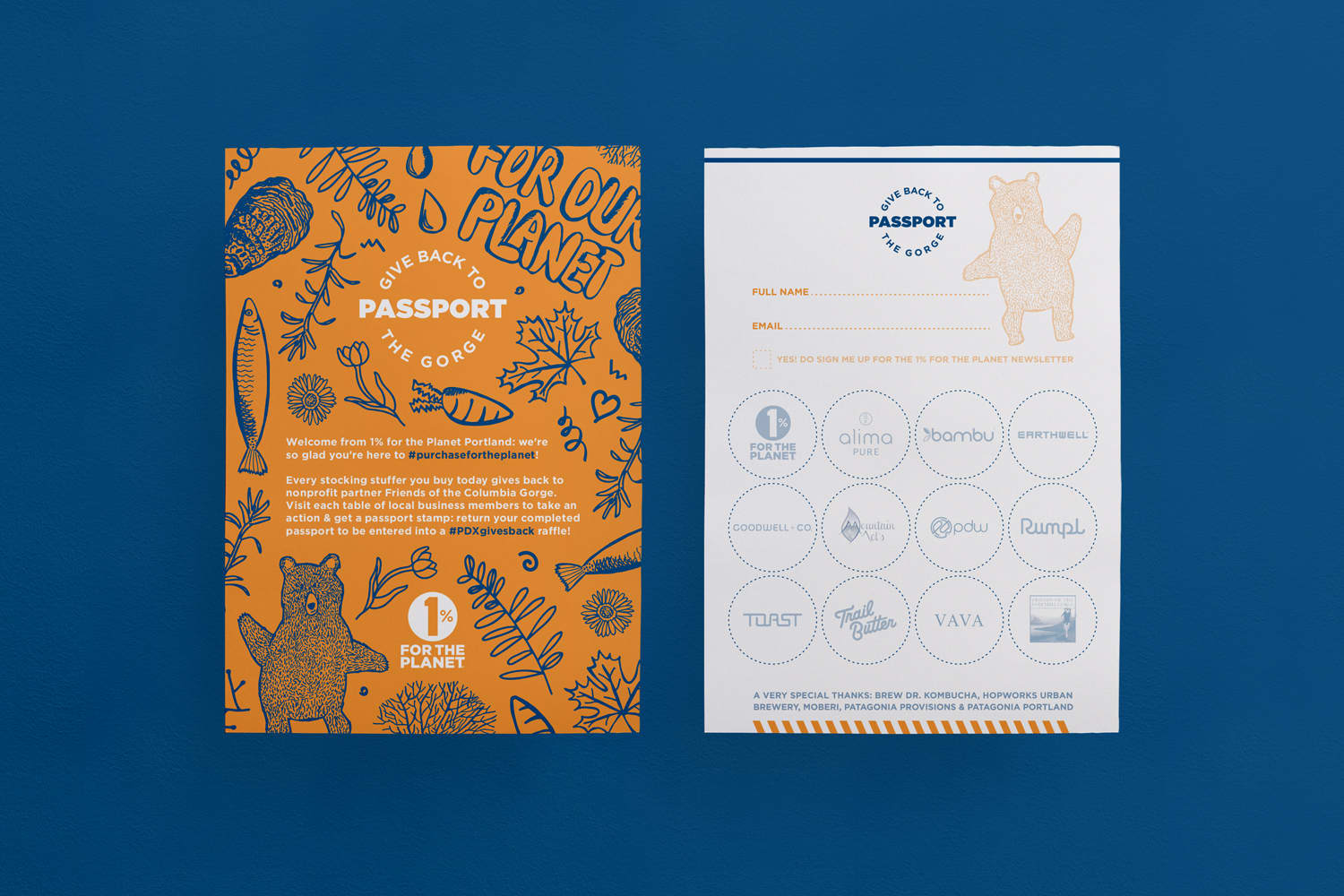 1% for the Planet // Passport