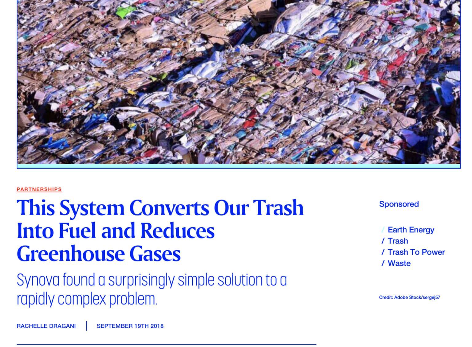 This System Converts Our Trash Into Fuel and Reduces Greenhouse Gases