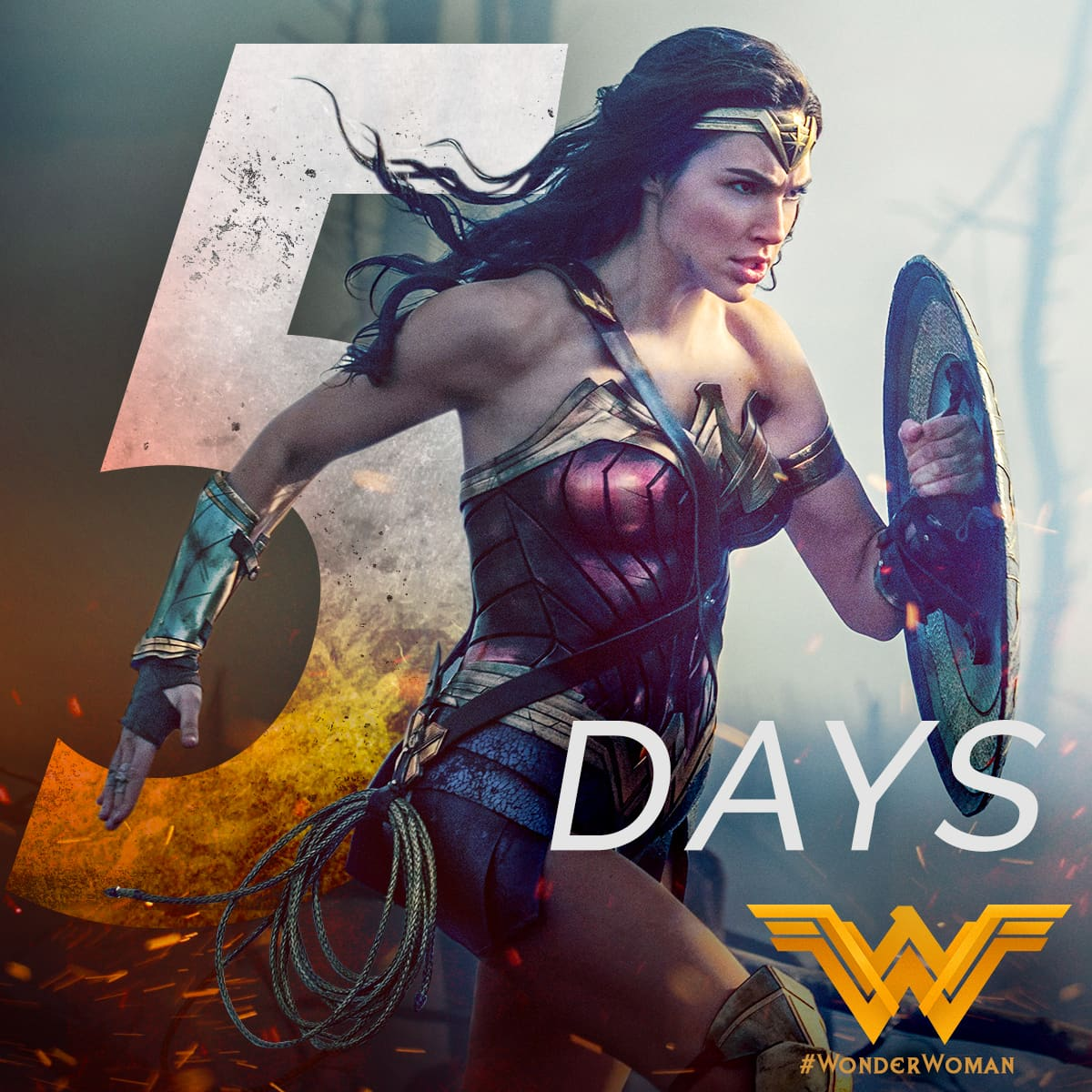 Wonder Woman - theatrical social campaign