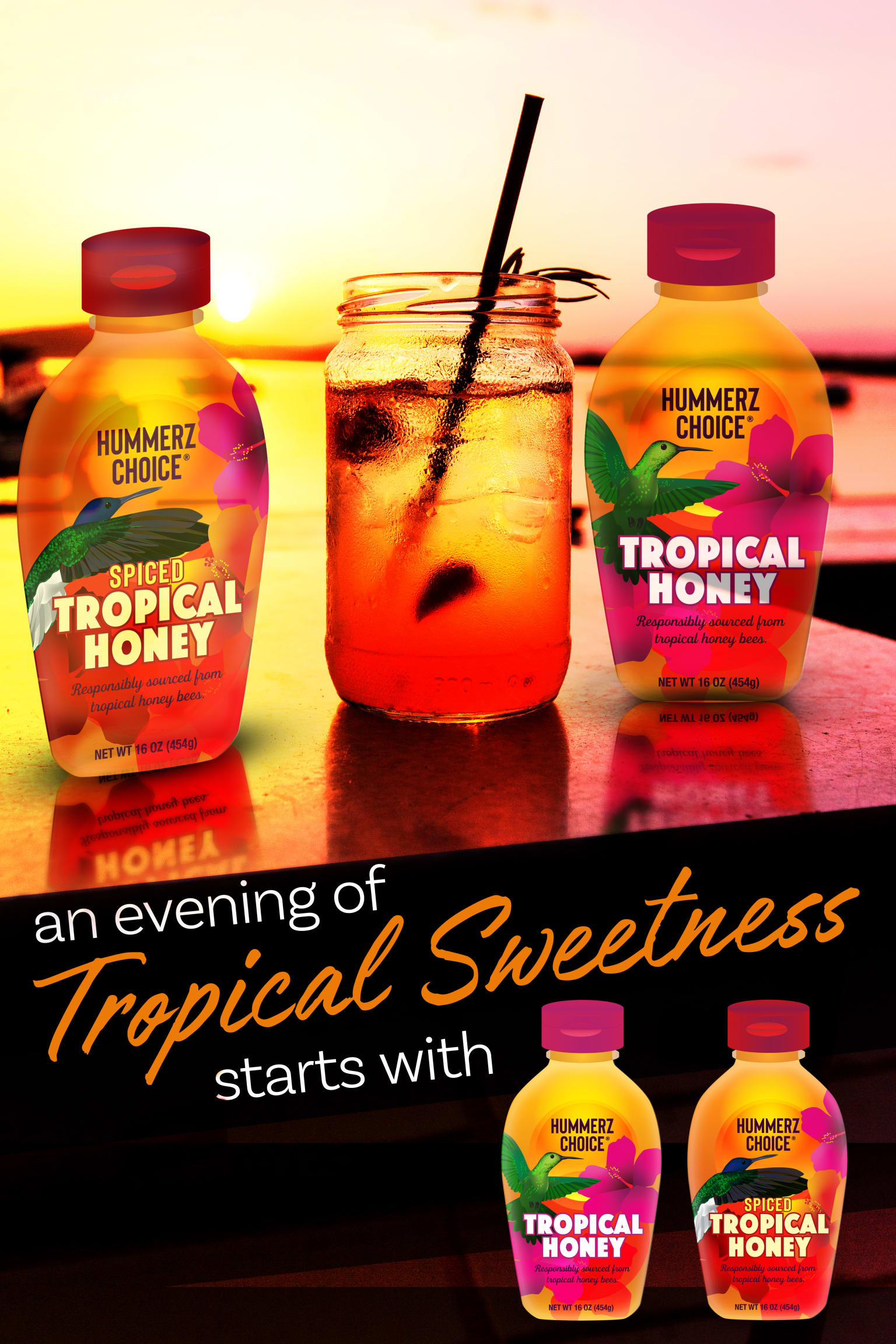 Hummerz Choice Tropical Honey