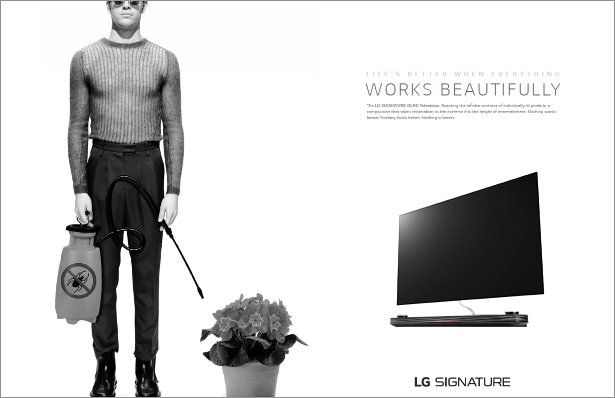 LG Signature Collection