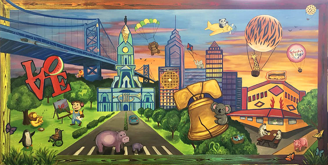 Mural for Pediatric Oncology Unit