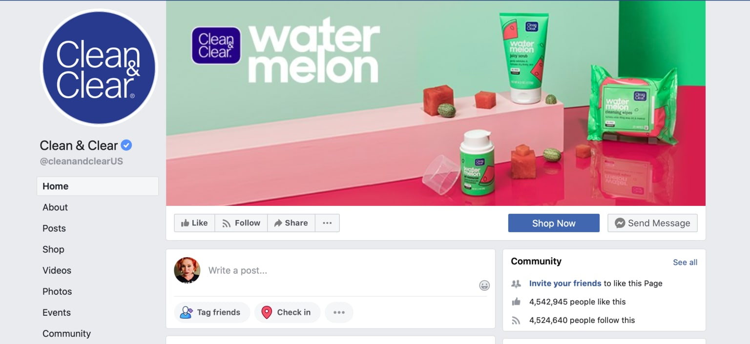 Clean and Clear Watermelon Launch