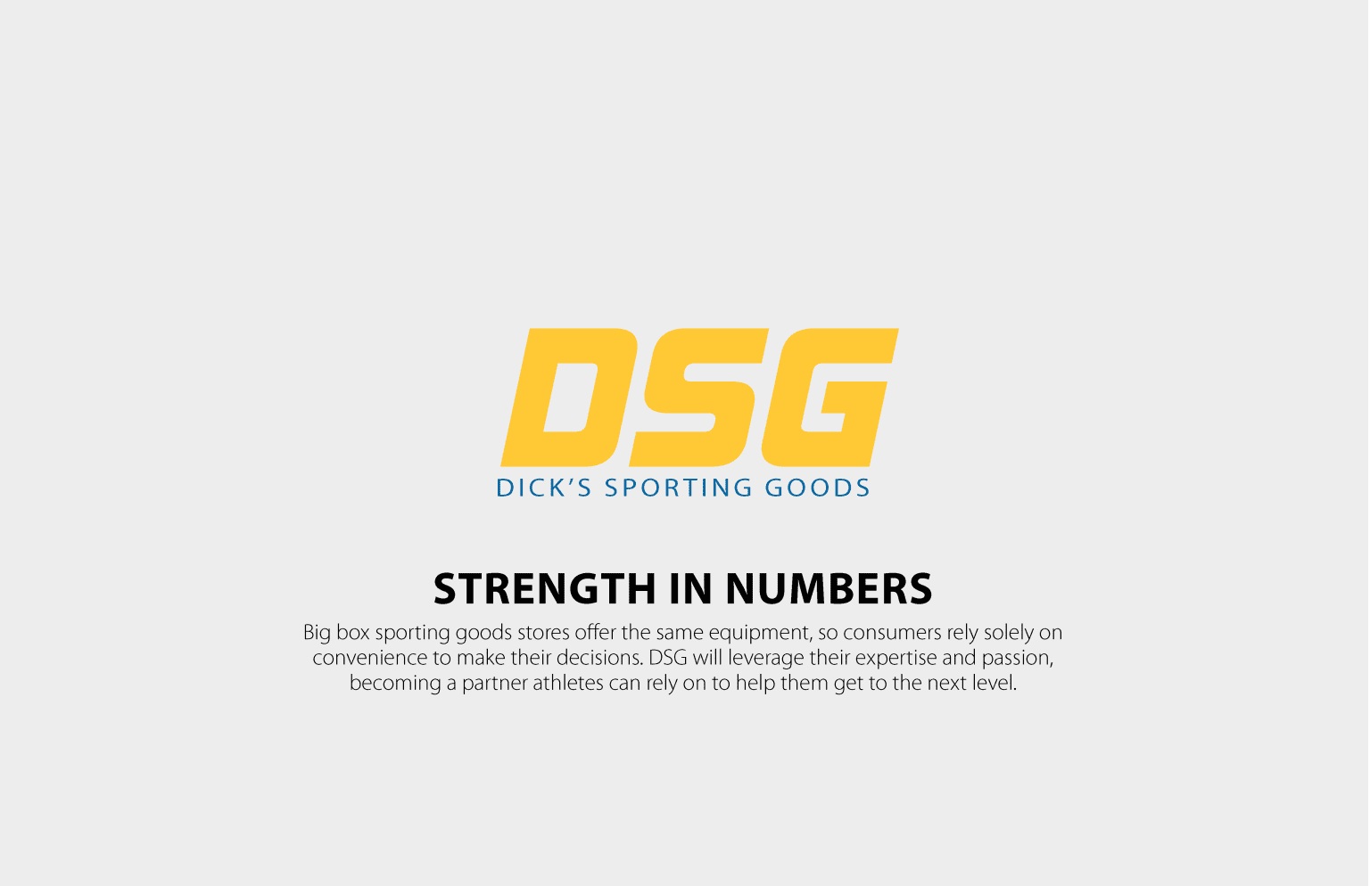 Strength in Numbers | Dick's Sporting Goods