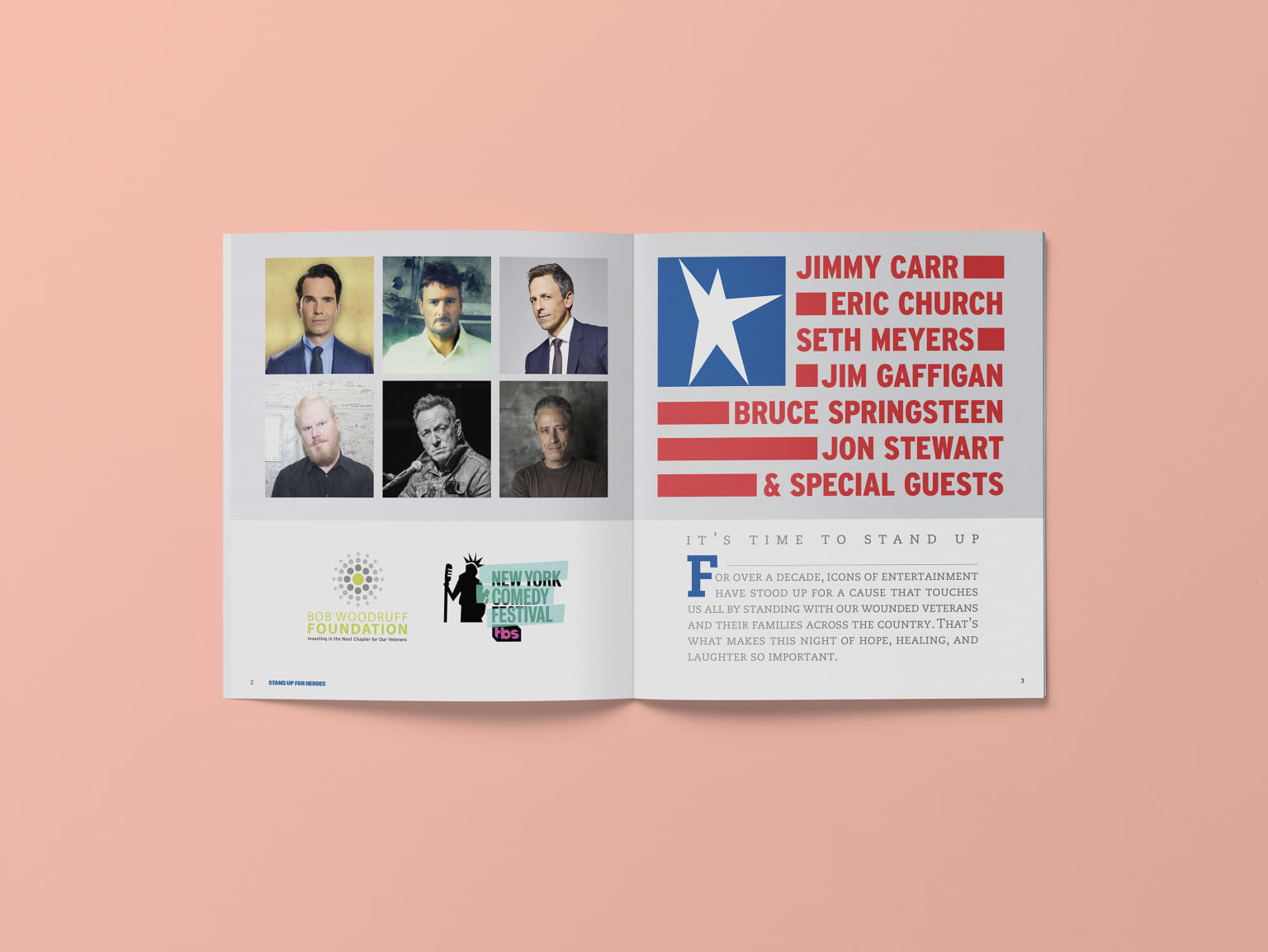Stand Up For Heroes Journal