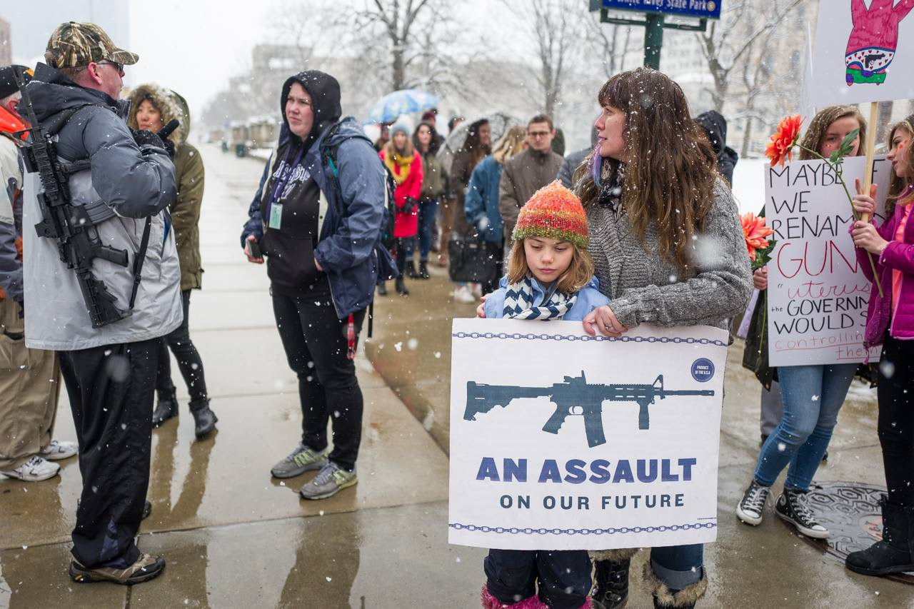 An Assault On Our Future   Protest Poster