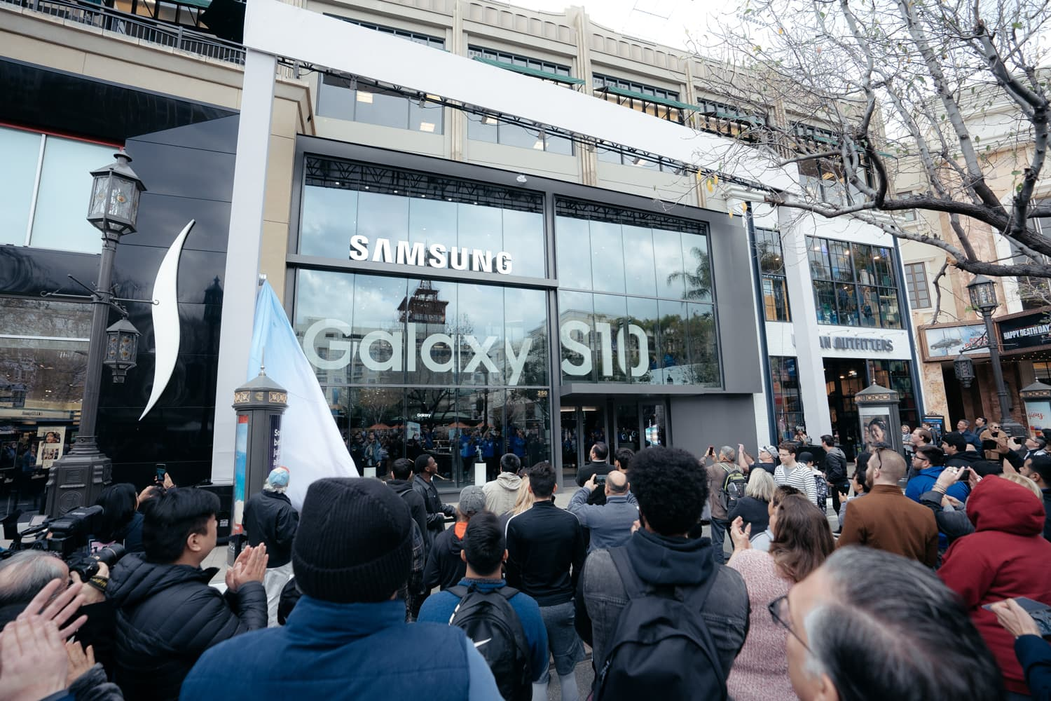 Samsung Experience Store Launch