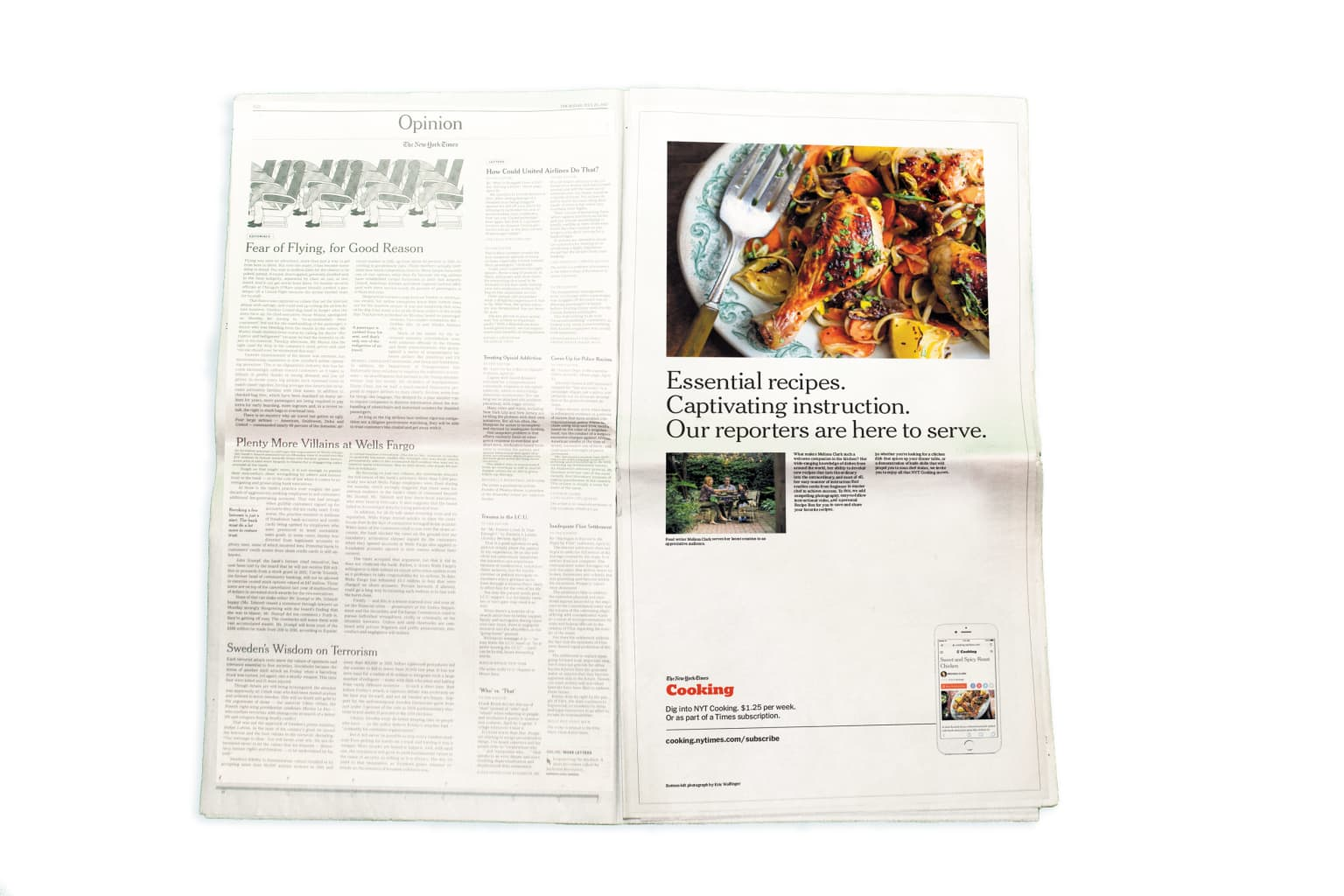 New York Times Cooking Ad Campaign