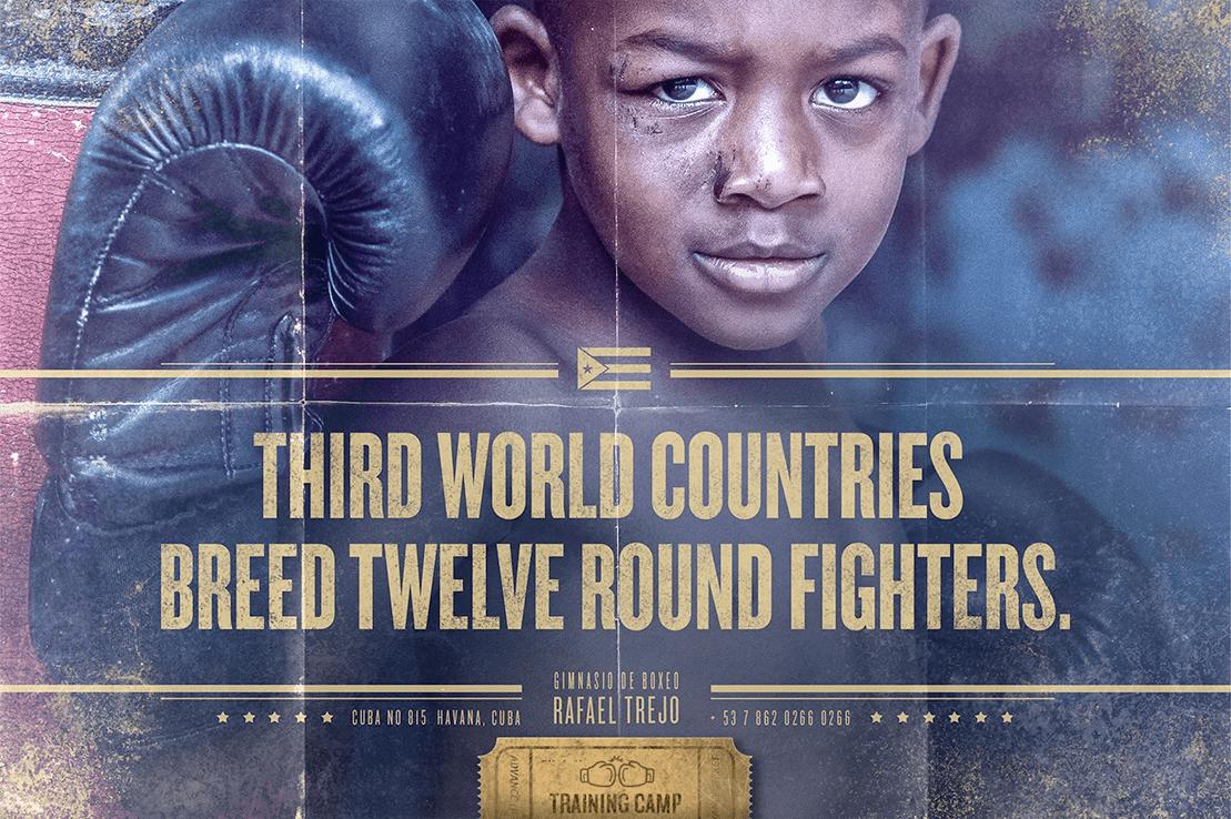 Trejo Boxing Gym Print Campaign
