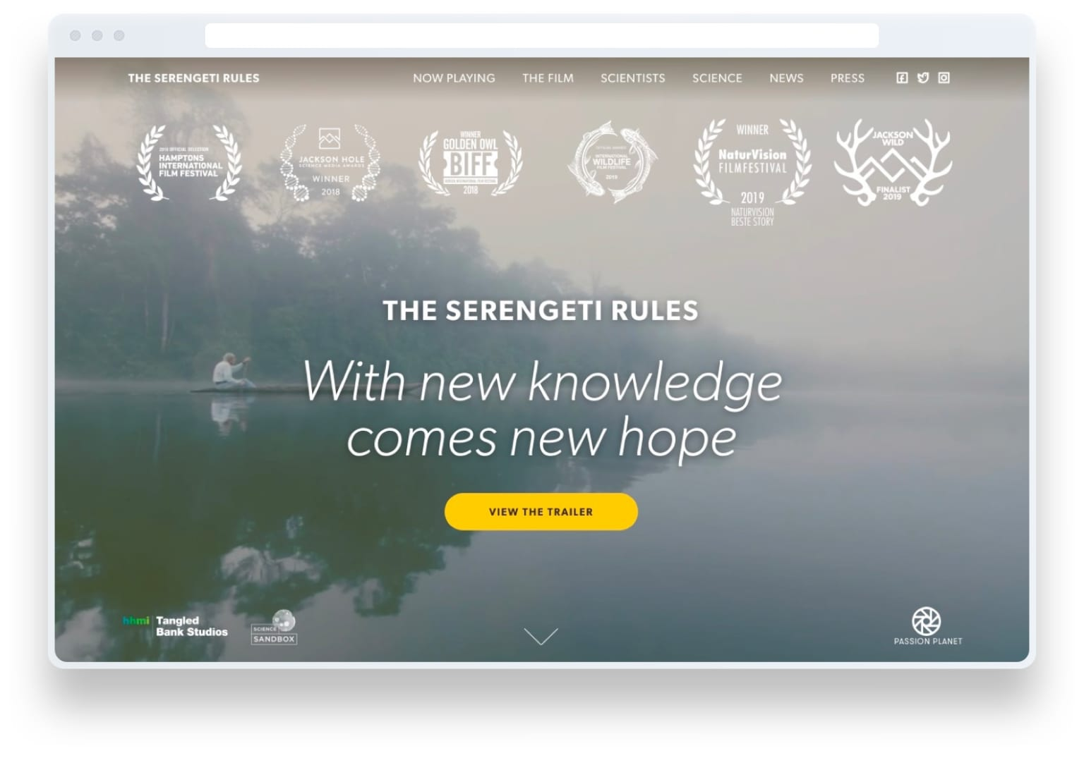 The Serengeti Rules (feature-length documentary)