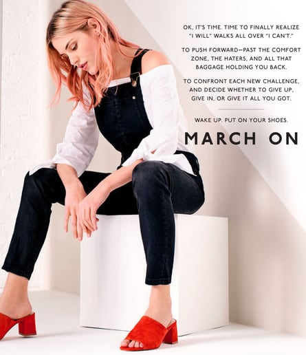 March On - DSW Spring 2017 Catalog