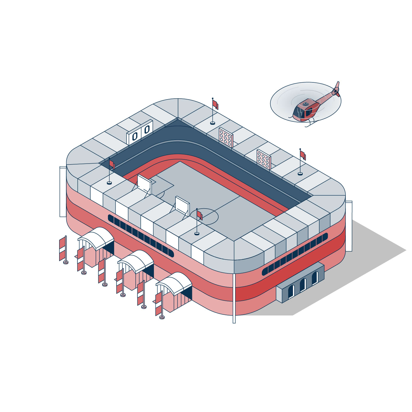 Isometric Illustrations for Indoor Mapping