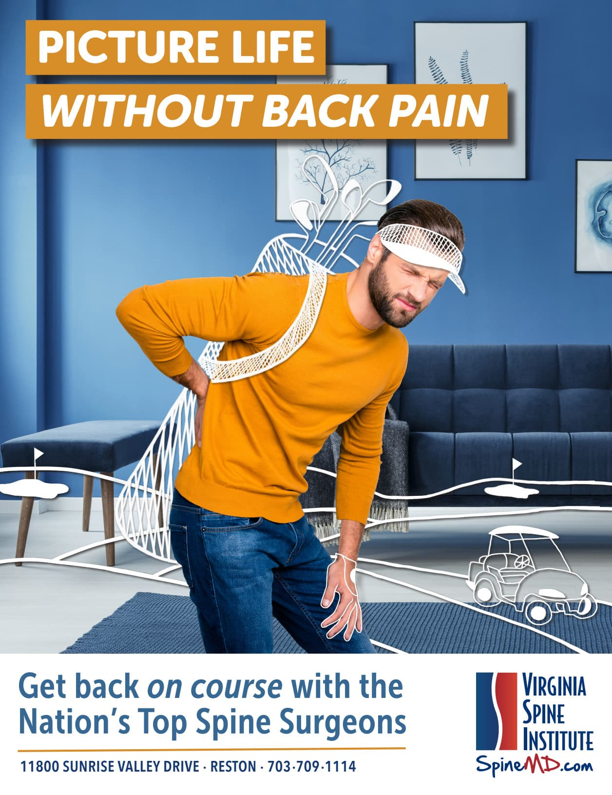 Virginia Spine Institute Advertisements