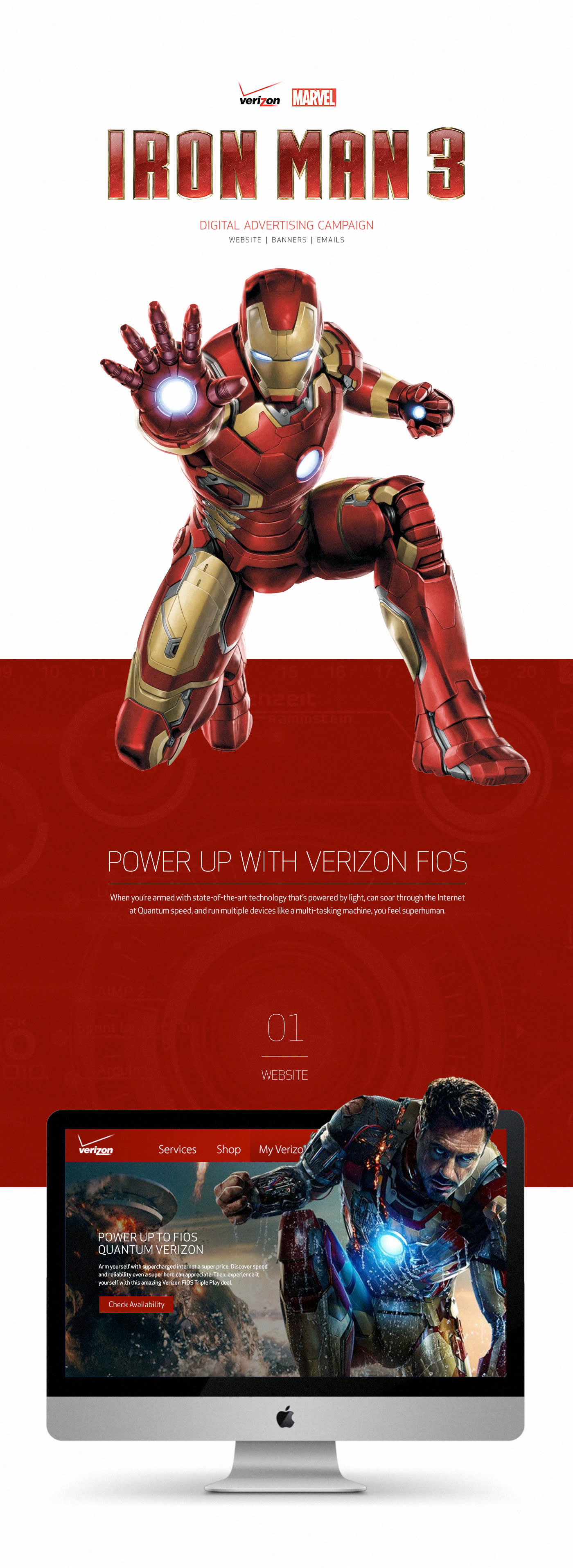 Verizon Iron Man Campaign