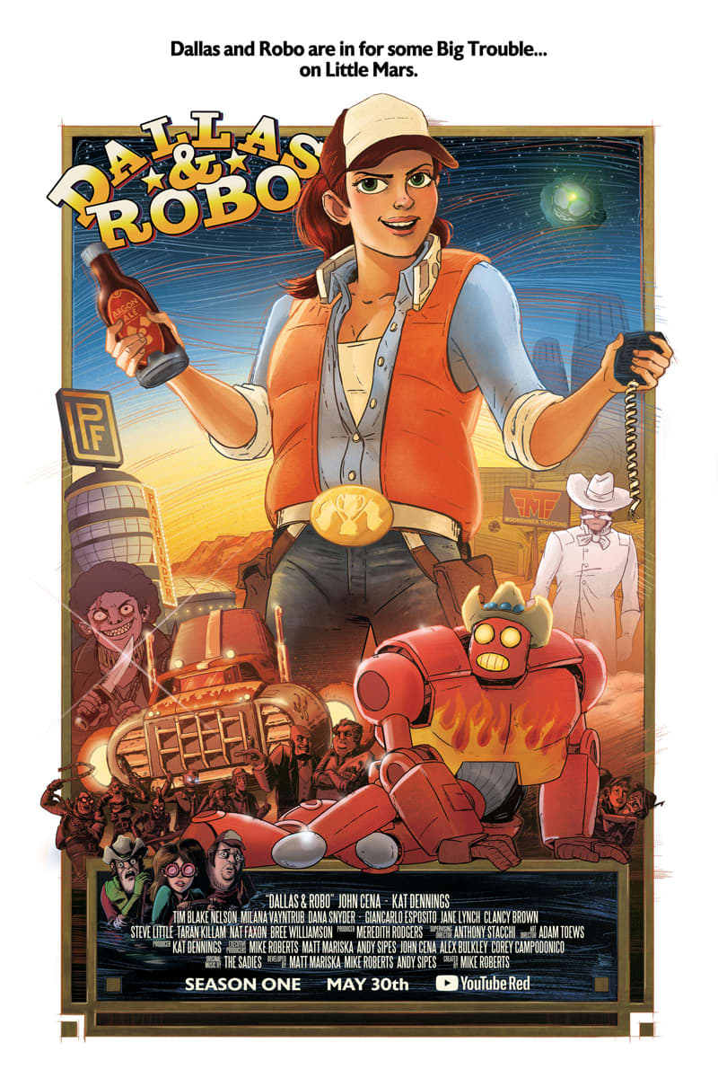 Dallas & Robo Promotional Poster