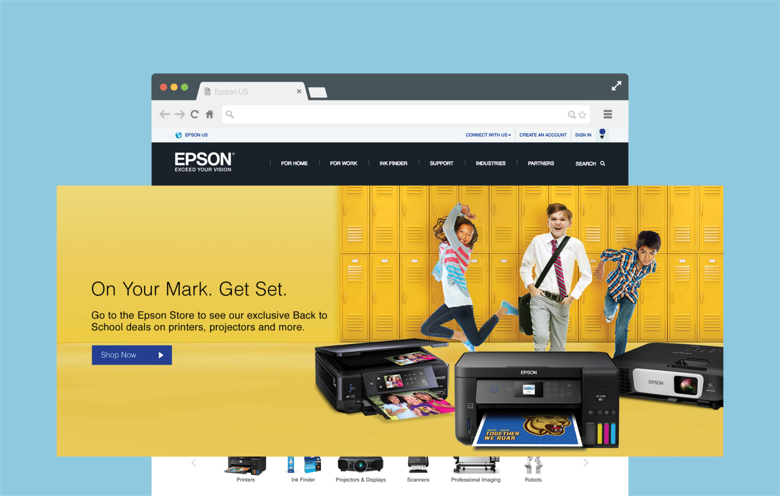 Epson Back to School Campaign