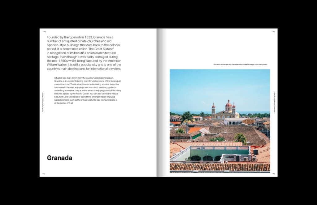 Geography and poetry of Nicaragua