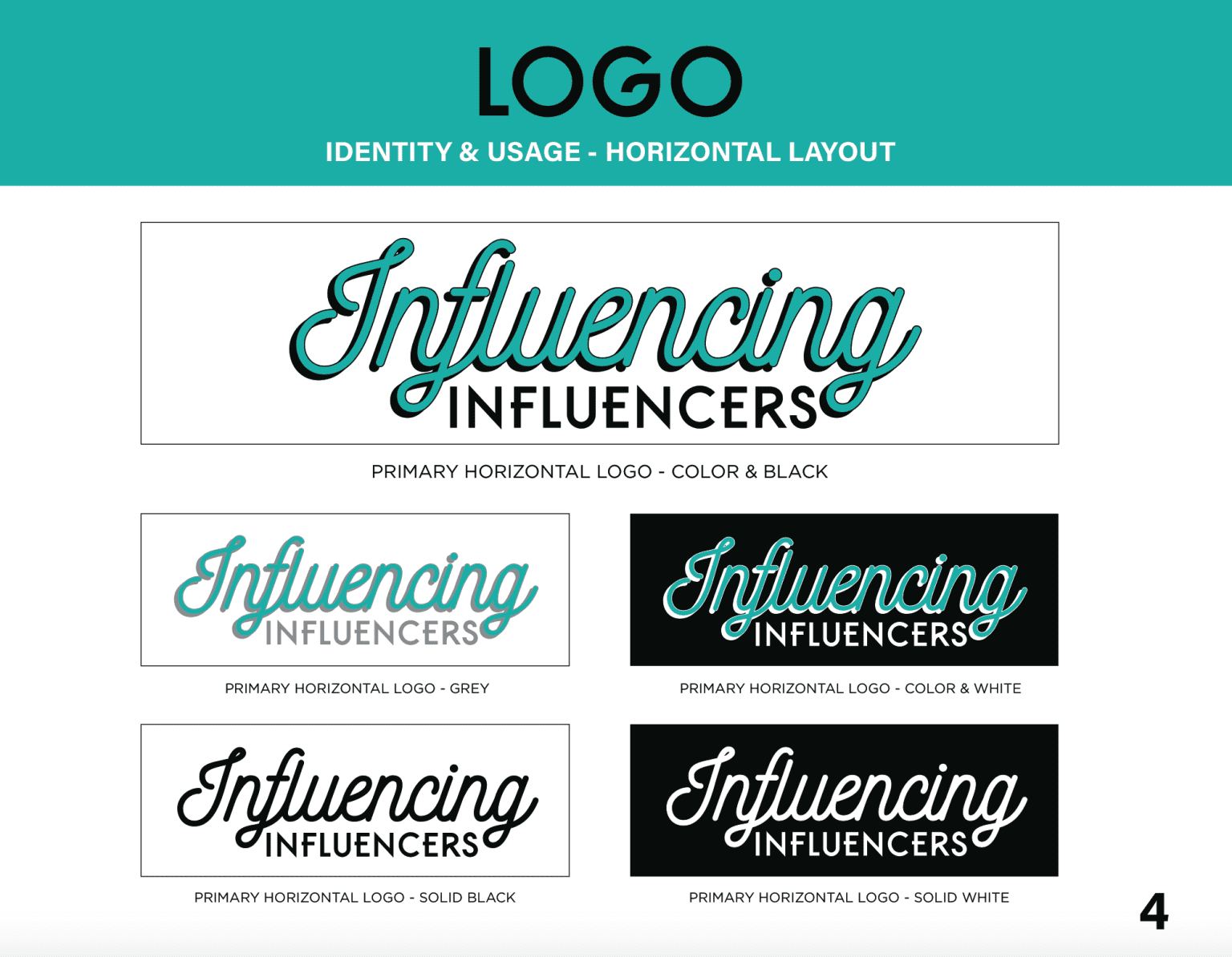 Influencing Influencers Podcast Branding Guidelines