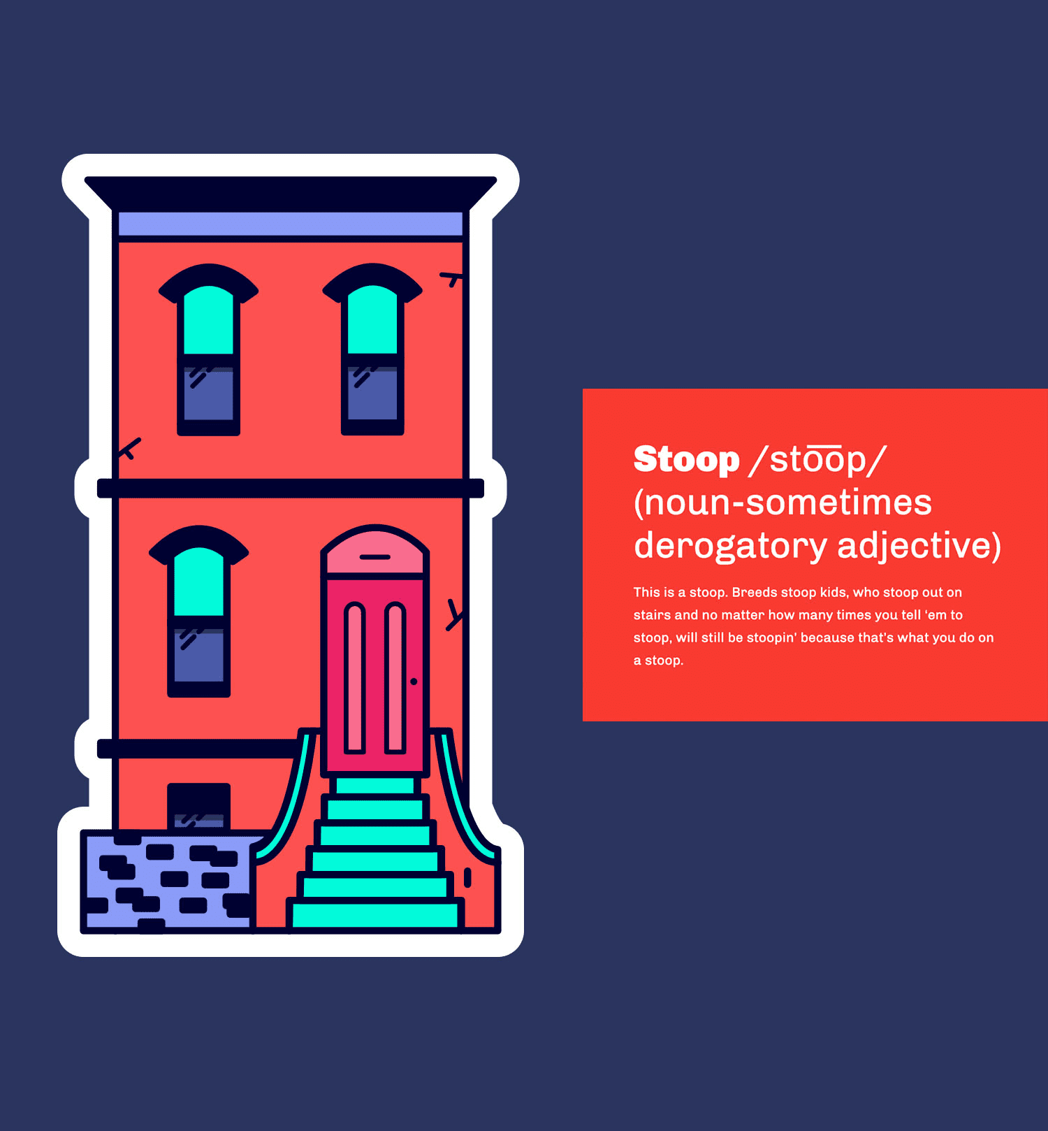 Brooklyn Sticker Pack + Vocab Lesson