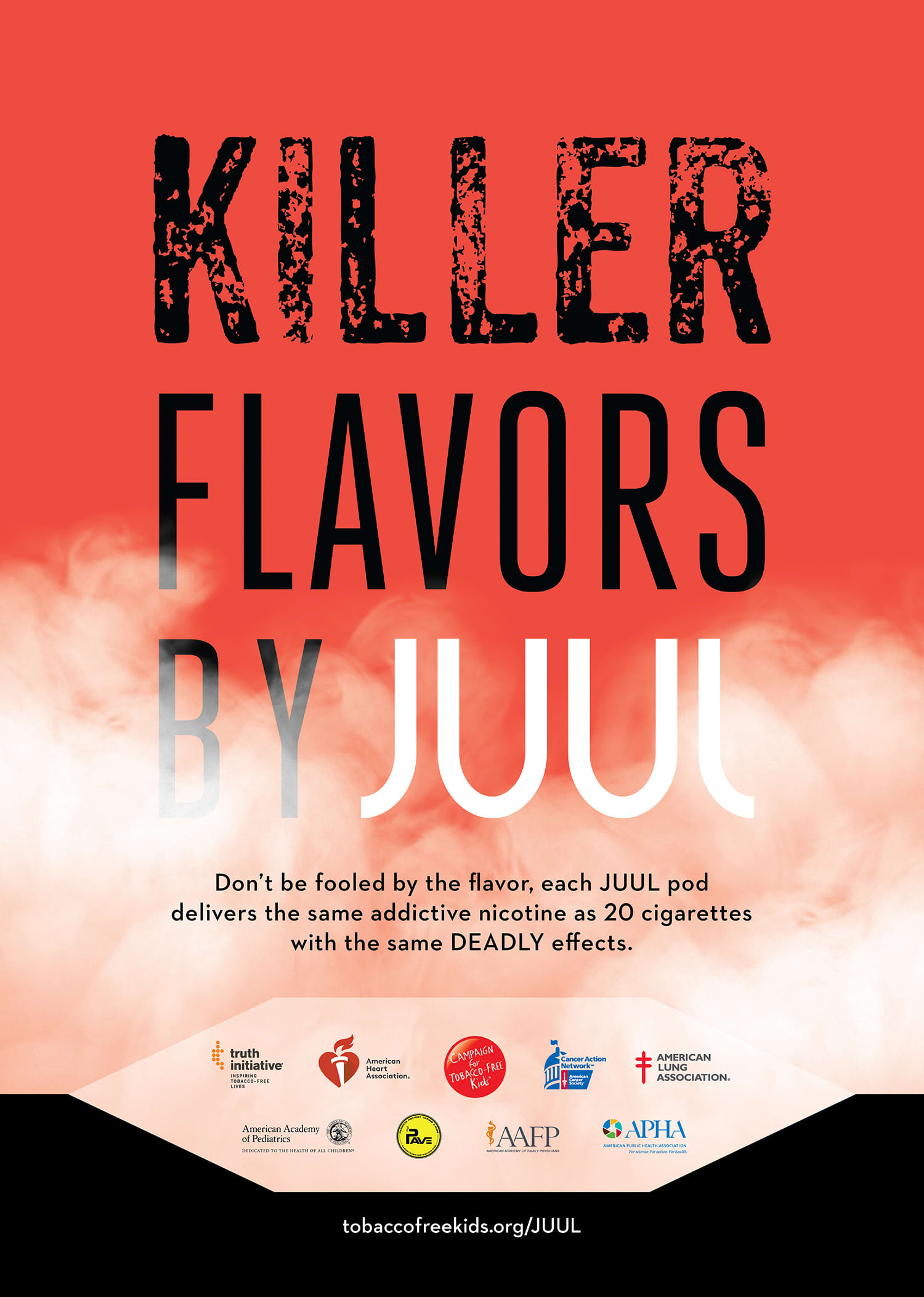 Deadly Flavors Advertising Campaign
