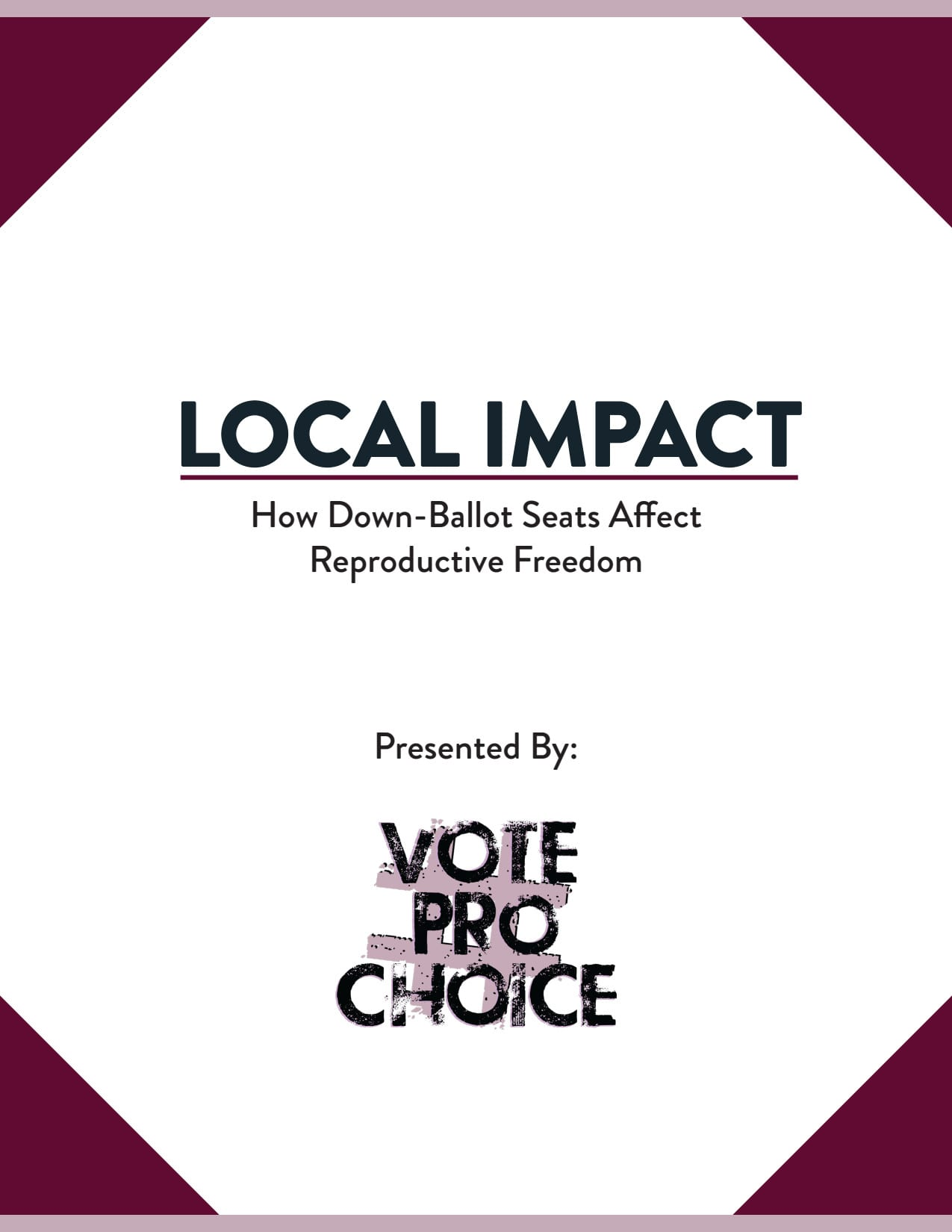 Local Impact: How Down-Ballot Seats Affect Reproductive Freedom