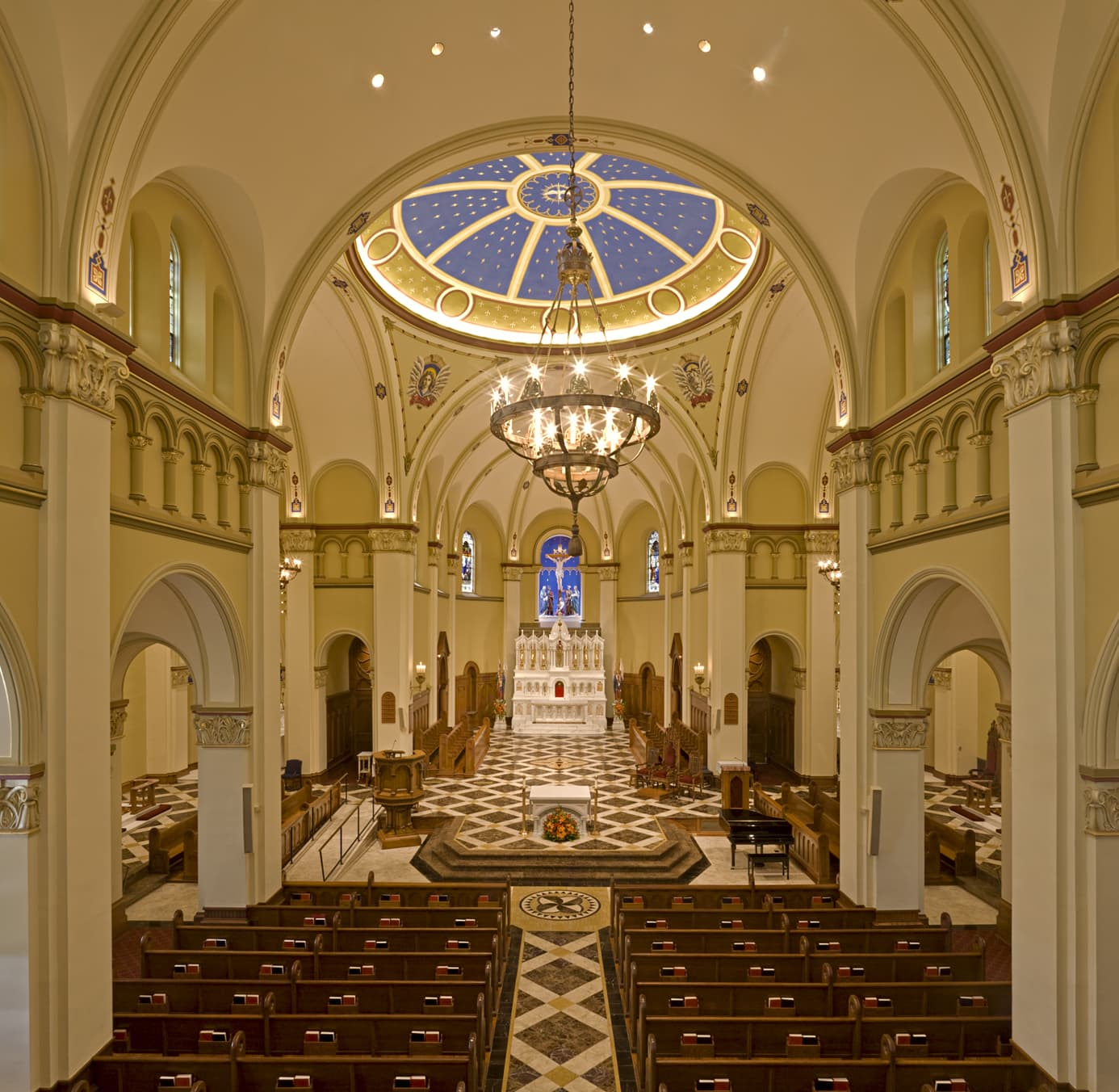 Mt St Mary's Interior Photography