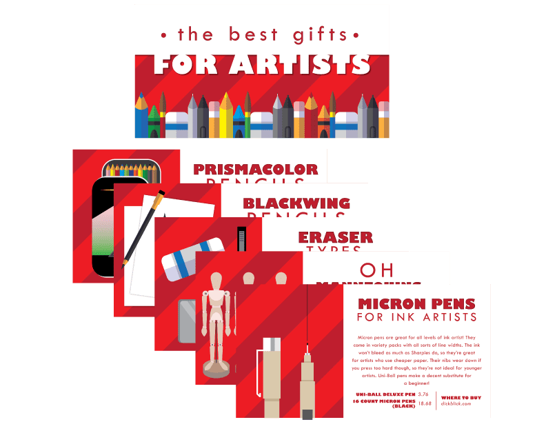Top Gifts for Artists