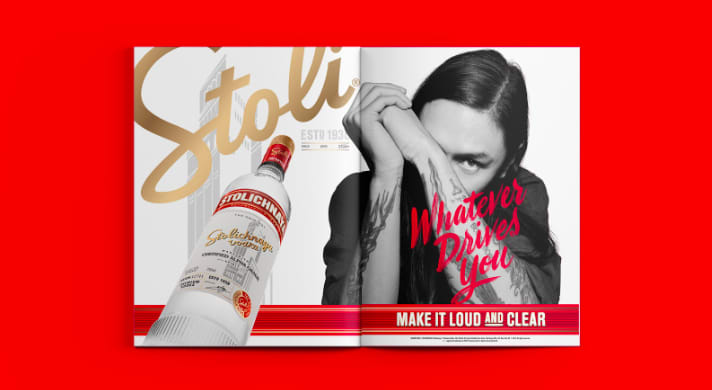 Stoli - Whatever Drives You