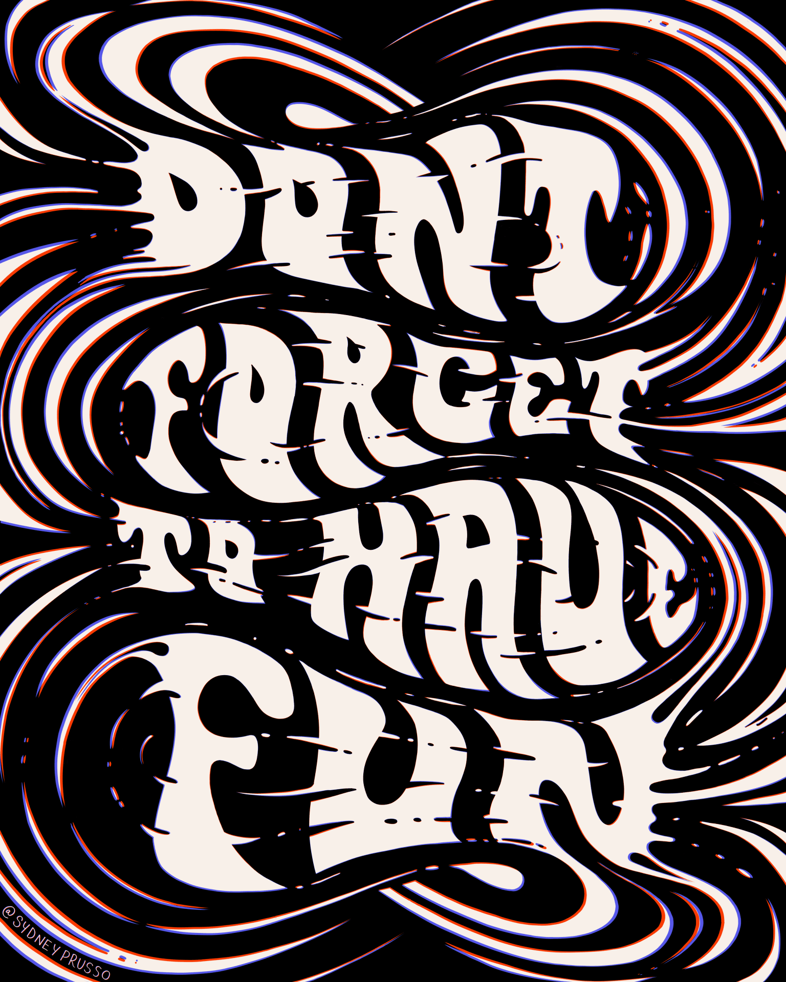 Poster Lettering