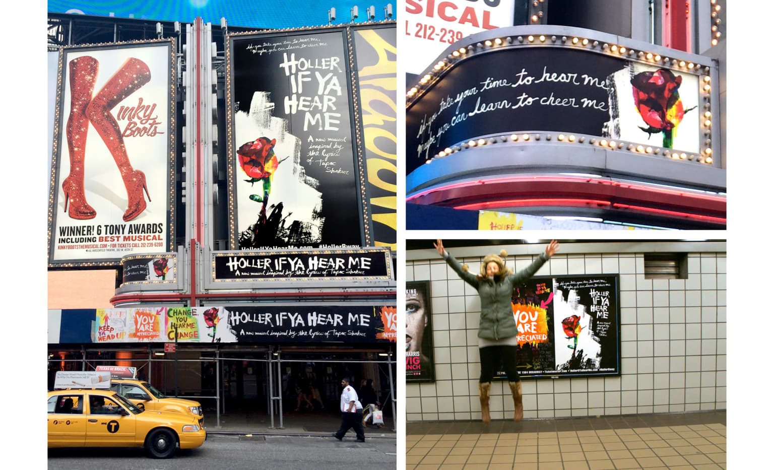 HOLLER IF YA HEAR ME / A BROADWAY MUSICAL CELEBRATING THE LIFE OF TUPAC SHAKUR / INTEGRATED MARKETING CAMPAIGN