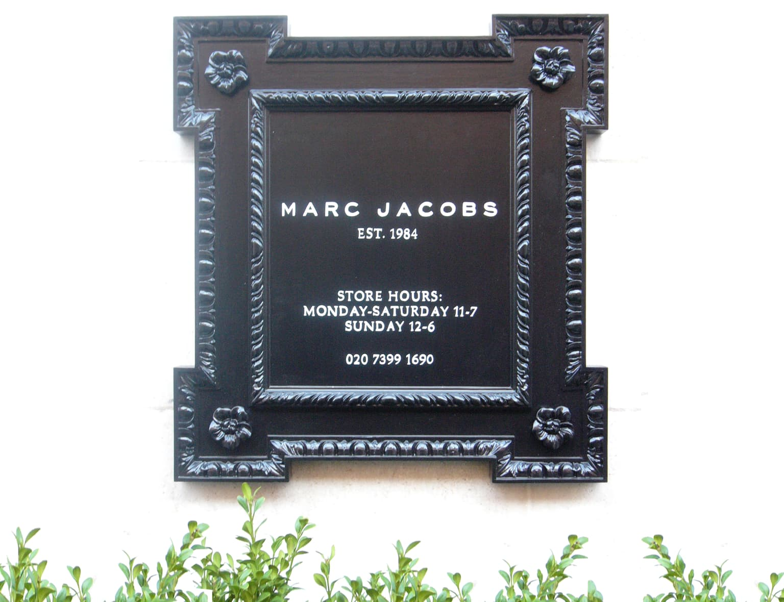 Marc Jacobs - NYC Showroom + London Flagship