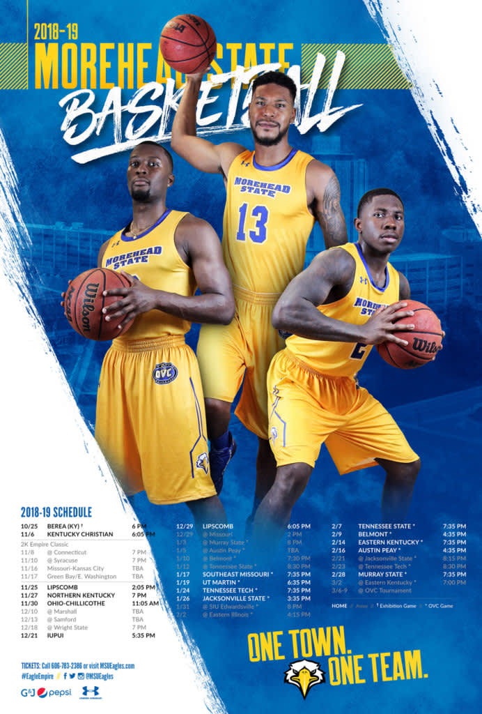 2018-19 Morehead State Digital/Print Elements