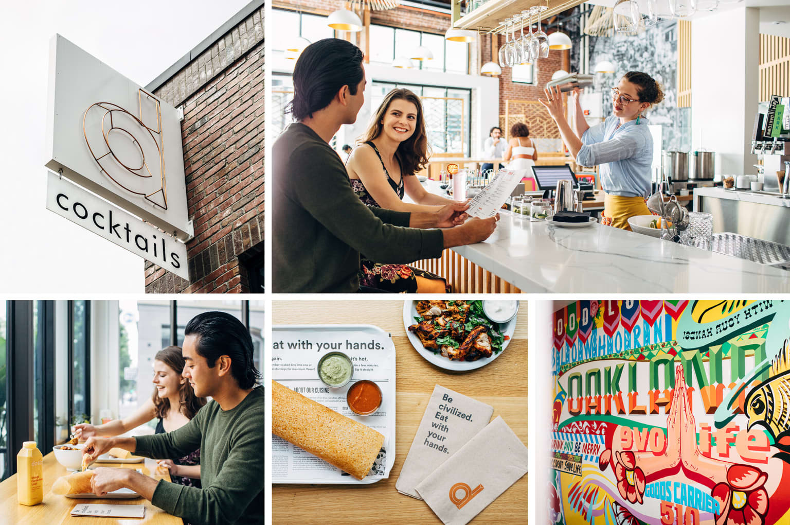Defining a restaurant's brand, experience, and retail presence